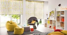 Свободновисящие рулонные шторы для разных типов помещений